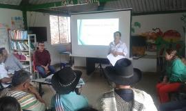 Secretaría de Desarrollo Humano entrega ayudas productivas en Campohermoso