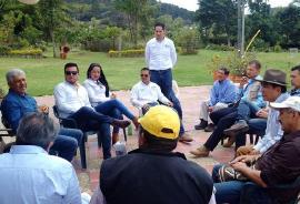 Nuevo punto de captación de agua para el acueducto se analiza en Villa de Leyva