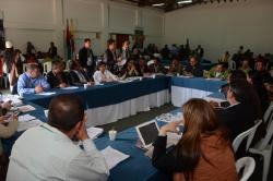 Masiva participación de alcaldes en encuentro del sector agropecuario