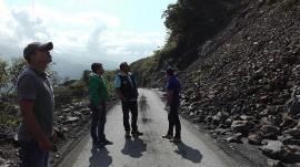 Gobernación de Boyacá presente en emergencias del occidente del Departamento