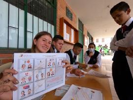 Voto Estudiantil - Boyacá se convirtió en la mejor forma de aprender Democracia en el Departamento
