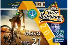 Clásica Ciclística Salesiana llega a su versión número 52