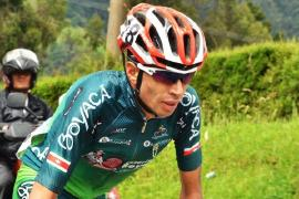 Wildy Sandoval se mantiene cuarto en la general de la Vuelta de la Juventud