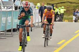 Wildy Sandoval, cuarto en tercera etapa de la Vuelta de la Juventud