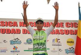 Wildy Sandoval fue segundo en la primera etapa de la Clásica de Fusagasugá