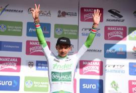 Rafael Pineda, líder sub-23 en inicio de la Vuelta a Colombia