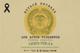Gobernador de Boyacá rechaza atentado terrorista ocurrido en Bogotá