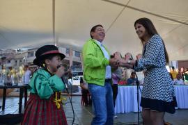 En Paz de Río, Carlos Amaya acompañó inauguración de la fase final departamental de Juegos Comunales