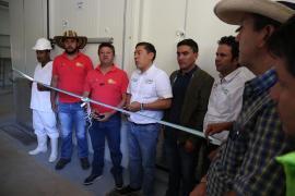 Gobernador Carlos Amaya inauguró cuarto frío en el municipio de Chiscas