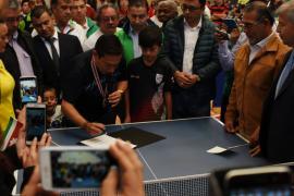 En un hecho histórico, el gobernador Carlos Amaya sancionó Ordenanza para fortalecer el deporte boyacense