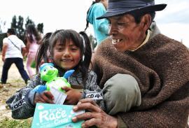 1.100 regalos se entregaron en el municipio de Tota con 'Semillas de Alegría'