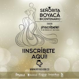 Abierta convocatoria para elegir la Señorita Boyacá 2019