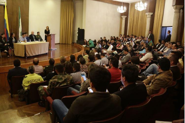 Cuarta sesión del Consejo Departamental de Política Social
