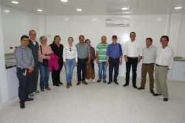 Contraloría y Ministerio de Salud visitaron obras del nuevo Hospital Regional de Moniquirá