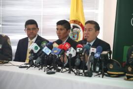 El gobernador Carlos Amaya y el ciclista Nairo Quintana lanzan la campaña 'Boyacá más Segura en el Bicentenario'