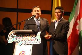 Multitudinaria asistencia a la inauguración de Boyacá Bicentenaria en Corferias