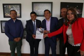Gobernador postuló al departamento como sede para Juegos Nacionales y Paranacionales 2023