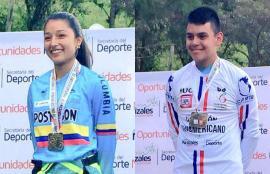 Michel Berdugo y Adrián Bonilla se consagraron campeones Panamericanos de DownHill