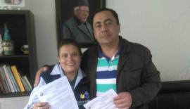 Rondón resaltó la labor de docente por sus aportes educativos a la comunidad