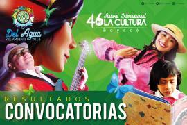 Conozca los resultados de la convocatoria Festival Internacional de la Cultura de Boyacá