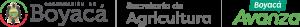 Secretaría de Agricultura Gobernación de Boyacá Logo