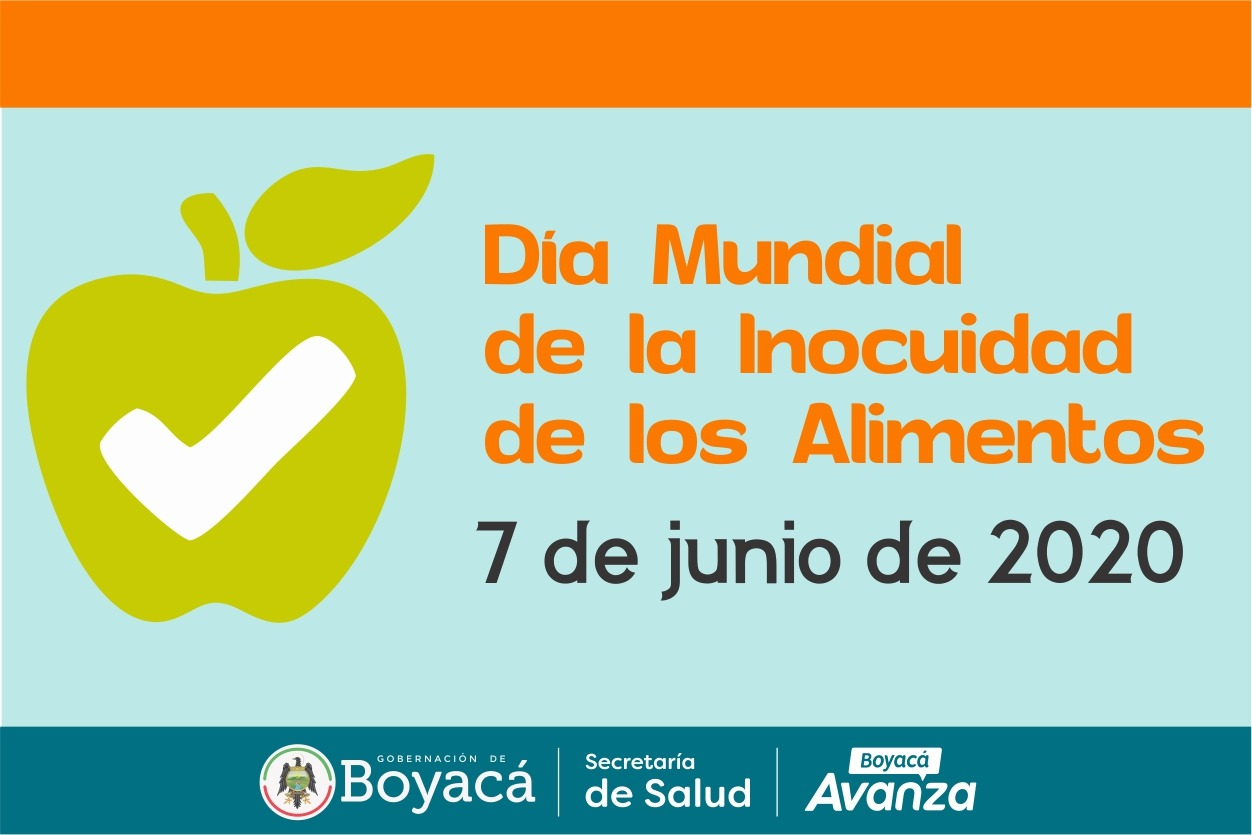 Este 7 De Junio Se Celebra El Dia Mundial De La Inocuidad De Los Alimentos Secretaria De Salud