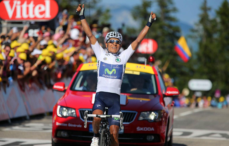 El boyacense Nairo Quintana, segundo en el Tour de Francia 2013- Foto: Tomada de zoomnews.es