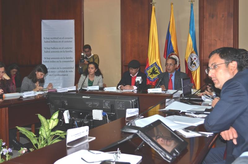 Gobierno Boyacense sigue su accionar con el OCAD