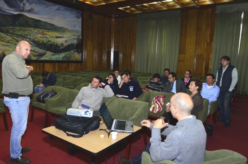 Reunión de medio Ambiente para definir proyectos de inversión para OCAD - Foto Diego Peña
