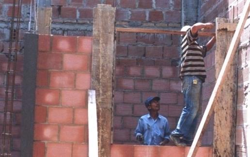 Mejoramiento de vivienda en los 123 municipios-Foto Arhivo particular
