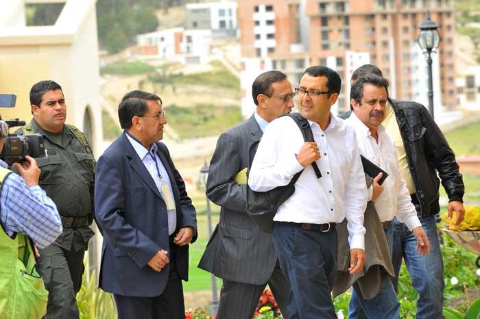 Juan Carlos Granados, gobernador de Boyacá, garante del acuerdo entre el gobierno nacional y los campesinos. Foto: Julio César Granados