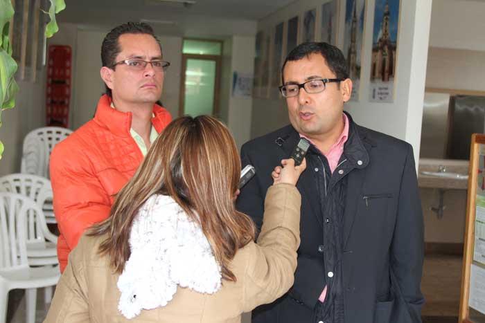 Gobernador de Boyacá entregó balance de la situación del departamento. Foto: Diego Peña. Ofiprensa GoberBoy