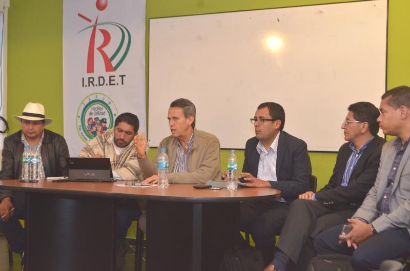 Gobernador de Boyacá pide a Gobierno y campesinos evaluación permanente de los acuerdos. Foto: Diego Peña