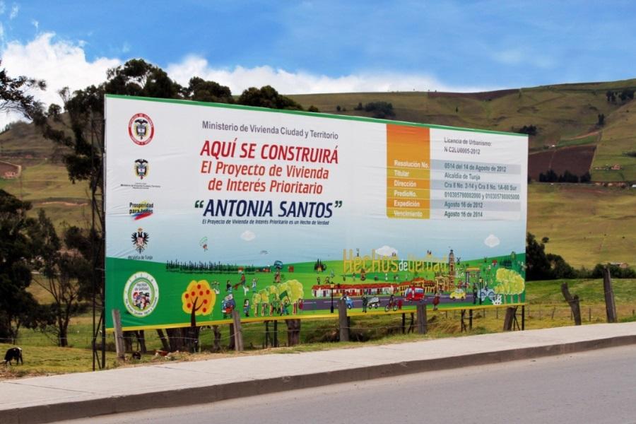 Foto: Alcaldía de Tunja