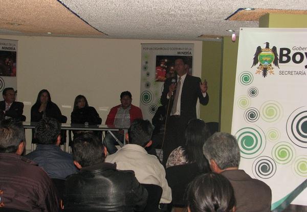 Foto: secretaría de Minas y Energía del Departamento
