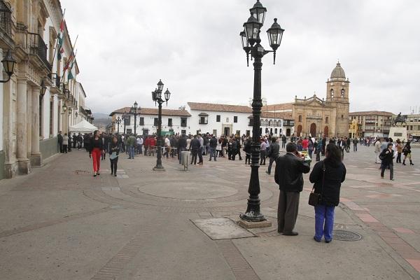 Darlin Bejarano Alcaldía Tunja