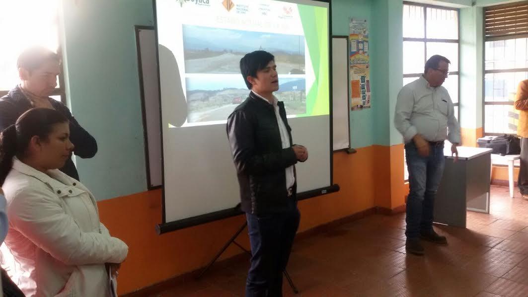 Foto:Secretaría de infraestructura Boyacá