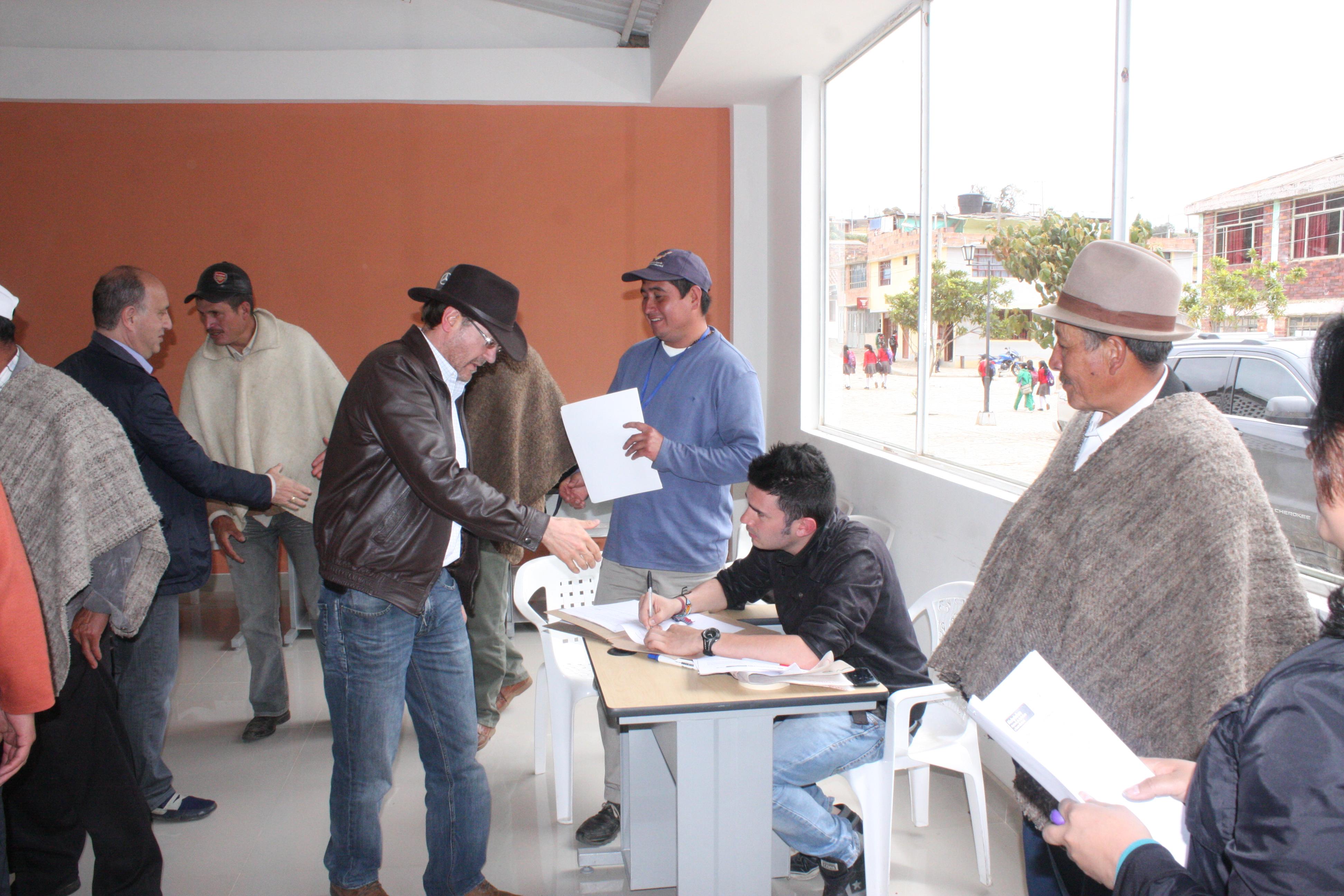 Foto: Oficina de Prensa - Gobernación de Boyacá