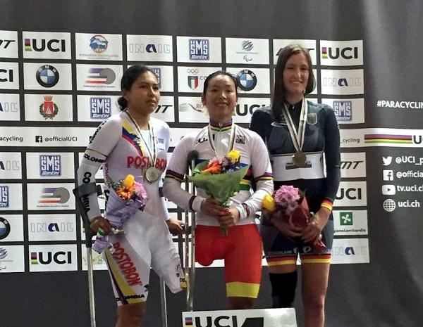 Foto: Federación Nacional de Ciclismo-OPGB