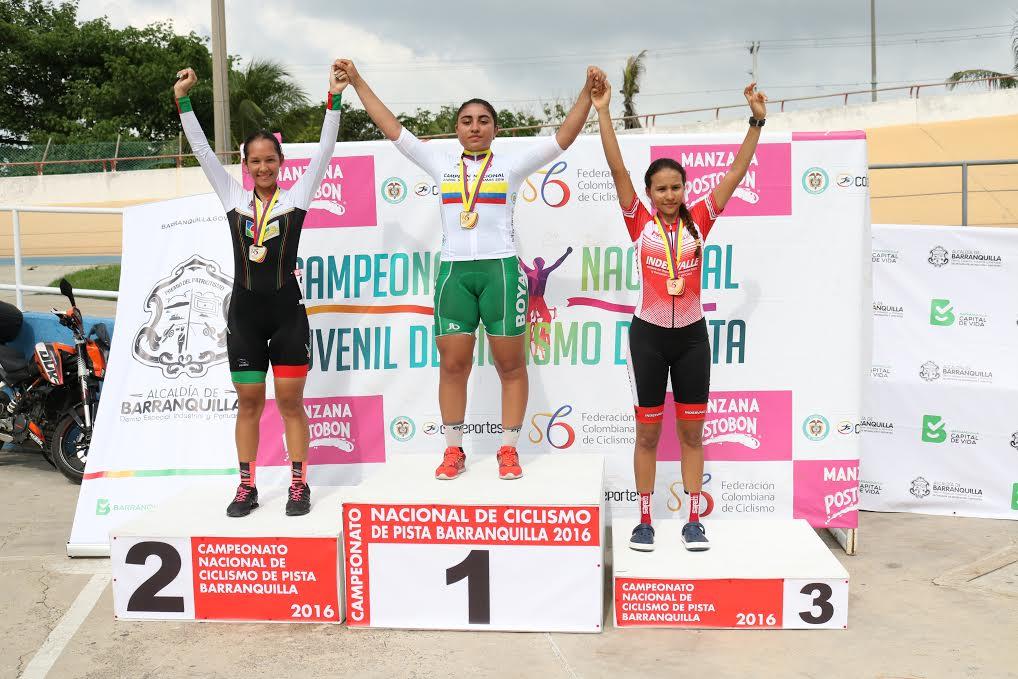 Foto: Eder Garcés, Federación Colombiana de Ciclismo.