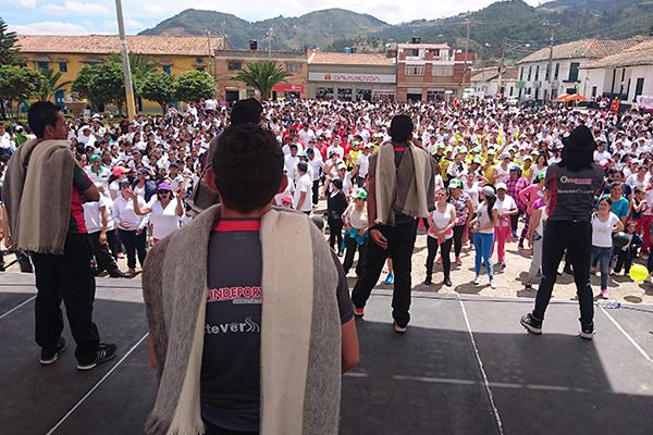 Foto: Nancy Castañeda, gestora departamental del Programa de Hábitos y Estilos de Vida Saludable.
