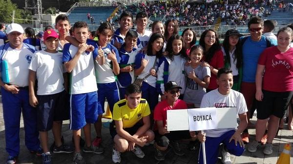 Foto cortesía: Olga Tarazona, presidenta Liga de Natación de Boyacá.