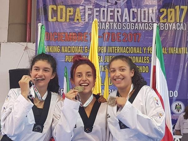 Foto cortesía: maestro Cito René Forero / Liga de Taekwondo de Boyacá.