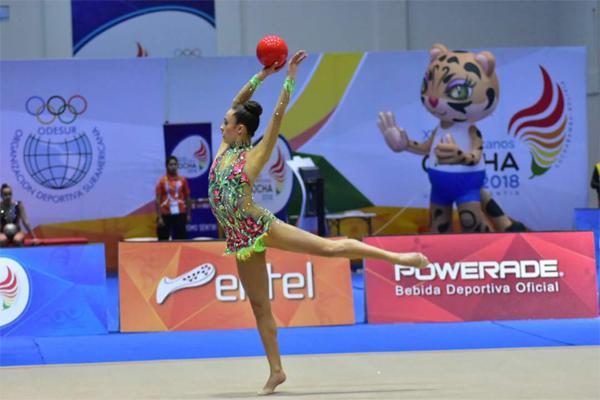 Foto: Prensa Juegos Suramericanos Cochabamba 2018.