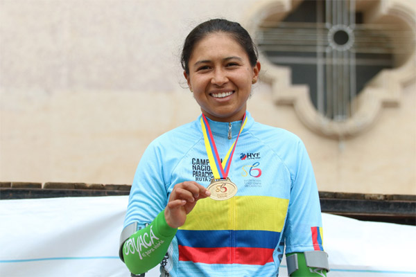 Foto: Éder Garcés / Federación Colombiana de Ciclismo.