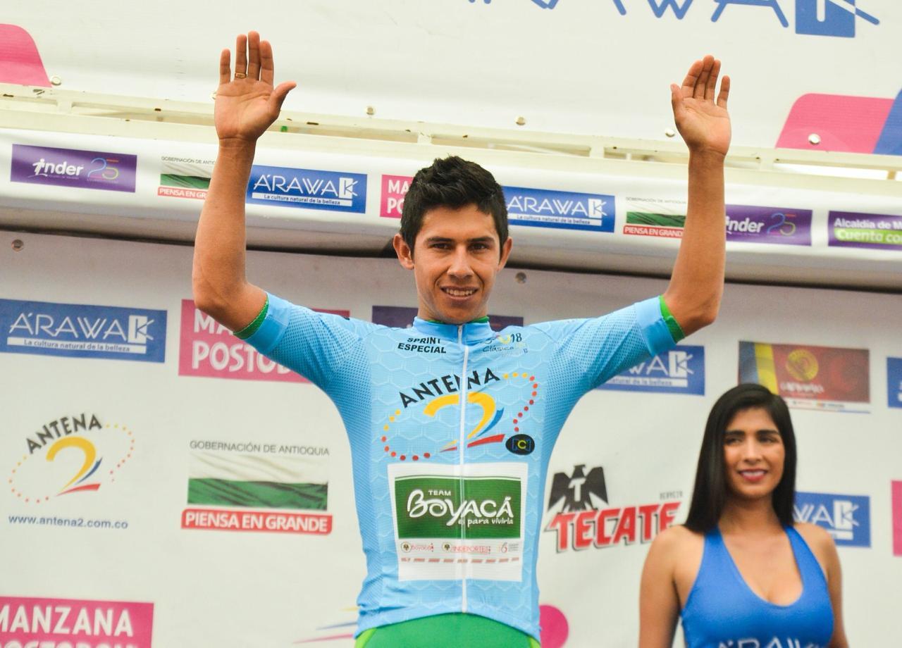 Foto: Macgiver Barón/ Prensa equipo de ciclismo Boyacá es para Vivirla.