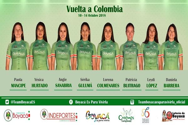 Foto: Macgiver Barón / Prensa equipo de ciclismo Boyacá es para Vivirla.