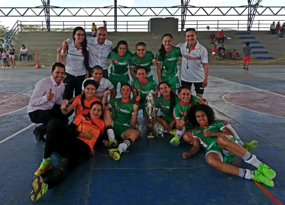 Foto cortesía: Diego Fernando Jiménez / selección Boyacá Fútbol de Salón Femenino.