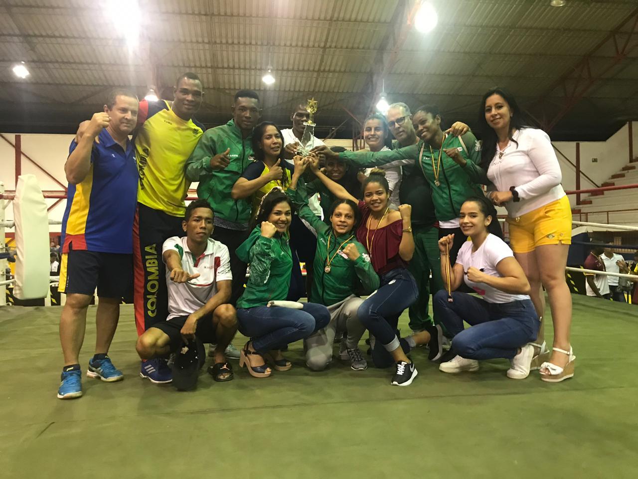 Foto cortesía: Roberto Iznaga / Liga de Boxeo de Boyacá.