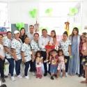 Gobernador y Gestora Social entregan dotaciones a Centro de Desarrollo Infantil